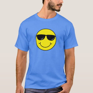 Cool Smiley Face with Sunglasses T-Shirt