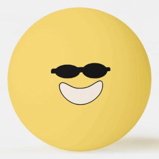 Cool Smiley Ping Pong Ball