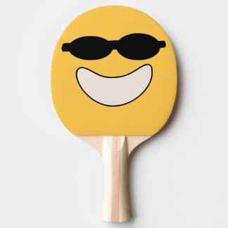 Cool Smiley Ping Pong Paddle