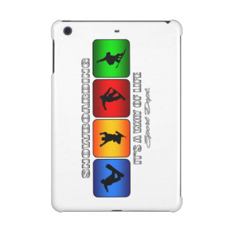 Cool Snowboarding It Is A Way Of Life iPad Mini Cases