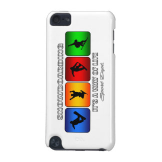 Cool Snowboarding It Is A Way Of Life iPod Touch (5th Generation) Cases