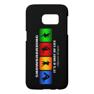 Cool Snowboarding It Is A Way Of Life Samsung Galaxy S7 Case