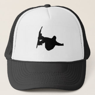 Cool snowboarding trucker hat