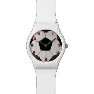 Cool Soccer Ball Pattern for Him and Her Wristwatch