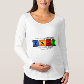 Cool Soccer It Is A Way Of Life Maternity T-Shirt