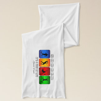 Cool Soccer It Is A Way Of Life Scarf