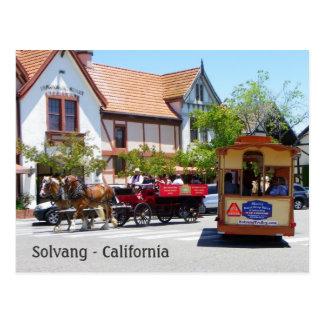 Cool Solvang Postcard! Postcard