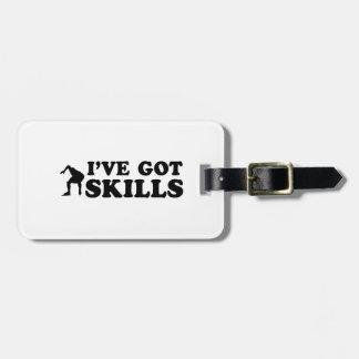 cool speedskate designs travel bag tags