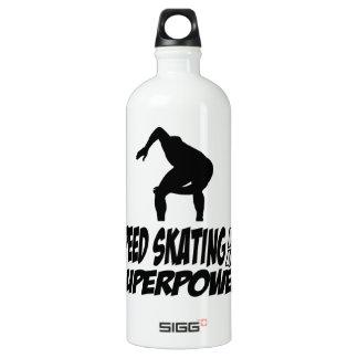 Cool SPEEDSKATING designs SIGG Traveler 1.0L Water Bottle