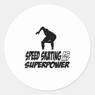 Cool SPEEDSKATING designs Stickers
