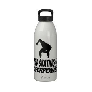 Cool SPEEDSKATING designs Drinking Bottle