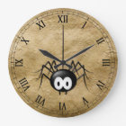 Cool Spider Clock! Large Clock