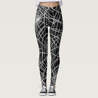 Cool Spider Webs Pattern Leggings