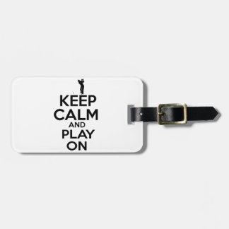 Cool sports vector designs luggage tag
