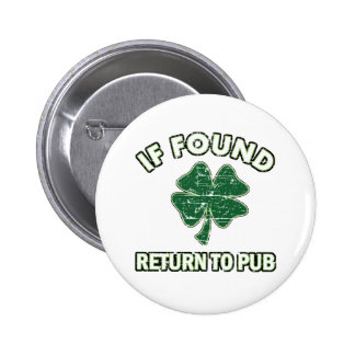 Cool St' Patrick's day designs 2 Inch Round Button