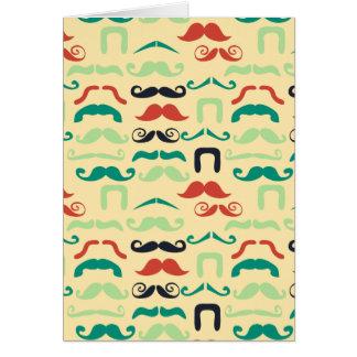 Cool Stache Card