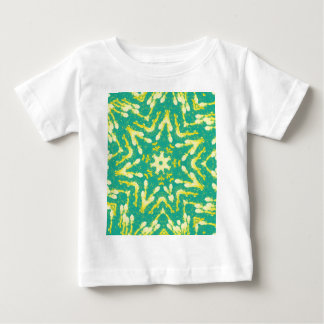 Cool Star Shaped Colorfull Pop Tye Dye Baby T-Shirt