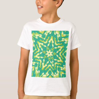 Cool Star Shaped Colorfull Pop Tye Dye T-Shirt