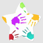 cool star sticker