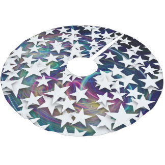 Cool Stars Cosmos Brushed Polyester Tree Skirt