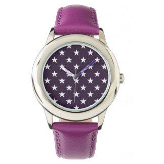 Cool Stars Trendy Pattern Simple Modern Trendy Watch
