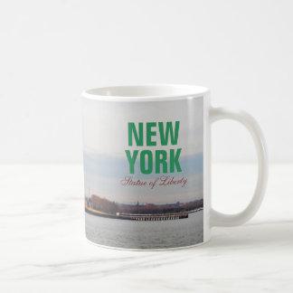 Cool Statue of Liberty - NY New York Classic White Coffee Mug