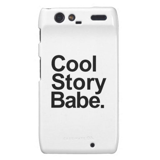 Cool story babe motorola droid RAZR covers