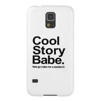 Cool story babe galaxy s5 cover
