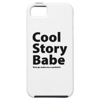 Cool Story Babe iPhone 5 Cases