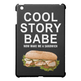 cool story babe iPad mini cases