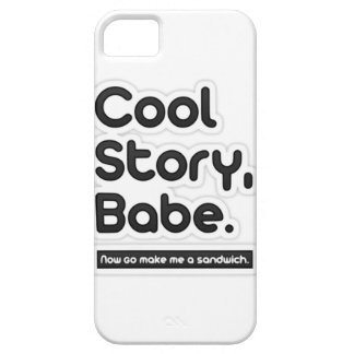 Cool Story Babe, Now Go Make Me a Sandwich iPhone 5 Covers