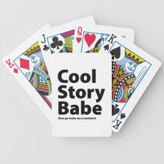 Cool Story Babe Poker Deck