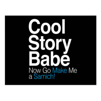 Cool Story Babe Post Cards