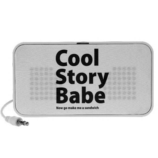 Cool Story Babe Speakers
