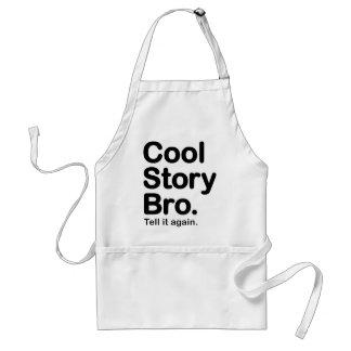 Cool Story Bro. Apron