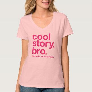 Cool story, bro. Now make me a sandwich. (Magenta) T-Shirt