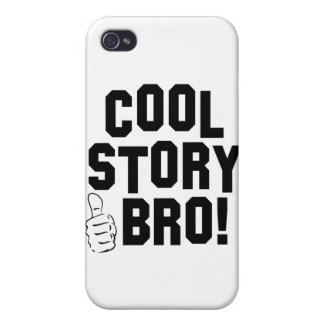 Cool Story Bro with Thumbs Up Case For iPhone 4