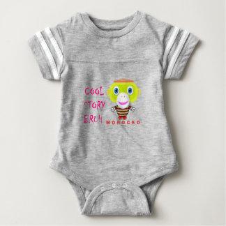 Cool Story Bruh-Cute Monkey-Morocko Baby Bodysuit