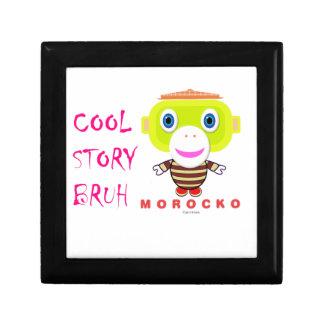 Cool Story Bruh-Cute Monkey-Morocko Gift Box