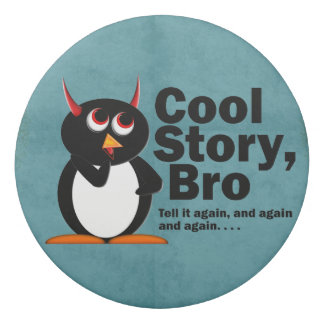 Cool Story Evil Penguin eraser School Supplies