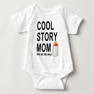 cool story mom baby bodysuit