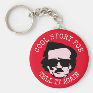 Cool Story Poe Basic Round Button Keychain