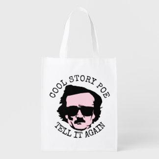 Cool Story Poe Reusable Grocery Bag