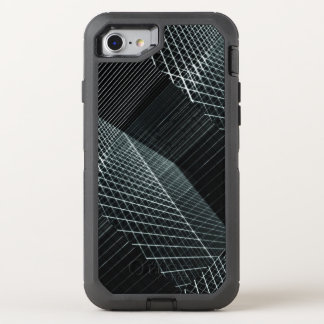 Cool Structure 3D Penetrating Light Background Hip OtterBox Defender iPhone 8/7 Case