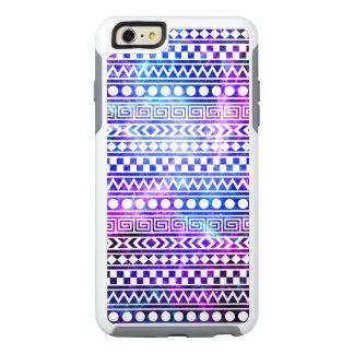 Cool Stylish Aztec Nebula Galaxy Pink Purple Blue OtterBox iPhone 6/6s Plus Case