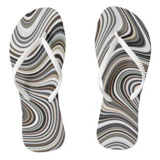 COOL Stylish Curvy Flip Flops