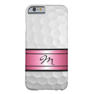 Cool Stylish Golf Sport Ball Dimples Image Barely There iPhone 6 Case