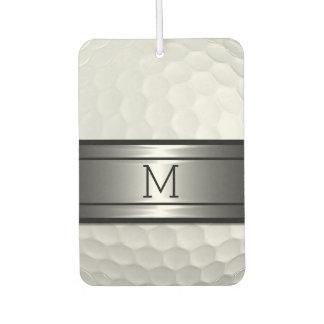Cool Stylish Golf Sport Ball Texture Pattern Air Freshener