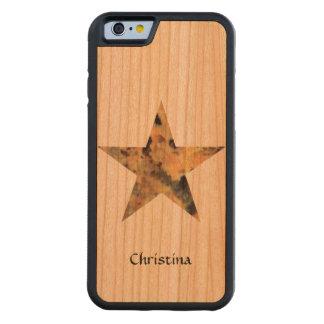 Cool Stylish Granite Rock Star Custom Handmade Cherry iPhone 6 Bumper Case