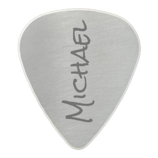 cool & stylish gray rock acetal guitar pick